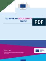 Ghidul Programului Corpul European de Solidaritate