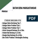 Standard Jemb. Bina Marga