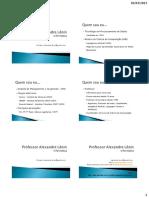 AED 01 - Slides Formato Economico