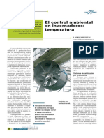 Articulo El Control Ambiental en Invernaderos Temperatuera