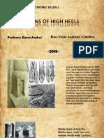 Origins of High Heels