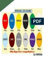 Colores en Quechua