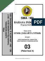 Soal Pra UN B. Indonesia SMA IPA Paket A (03) 2018 - mahiroffice.com.pdf
