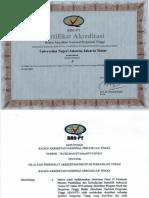 SK Dan Akreditasi 10 Juli 2015 6 November 2017