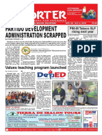 Bikol Reporter September 30 - October 6, 2018 Issue