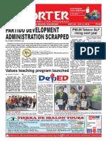 Bikol Reporter September 30 - October 6, 2018 Issue