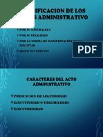 Clasificacion de Los Actos Administrativo