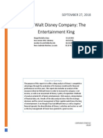 walt disney case