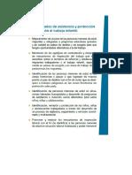 OIM. Necesidades de asistencia y protección en relación al Trabajo Infantil