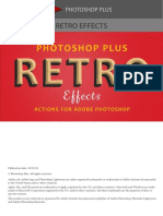 Retro Effects Actions for Adobe Photoshop