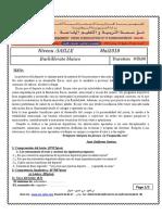 Examen Blanc 3ASLLE Espagnol 1er Sujet 2018 Jdid