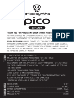 Pico Drums Manual