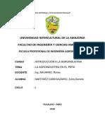 La Agroindustria en El Perú 2