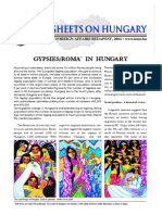 Hungarian assimilation of Roma population