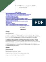 NE 033 2005 NORMATIV Pentru Întreţinerea Şi Repararea Străzilor