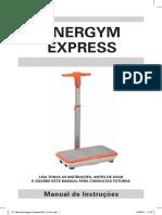 Plataforma Vibratoria Energym Express Upfitness