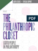 The Philanthropic Closet 2018