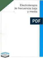 Electroterapia de Frecuencia Baja Y Media