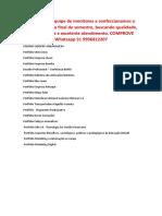 Portfólio Unopar Uniderp - Confeccionamos seu trabalho - 31 996812207