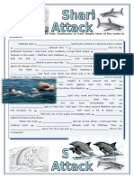 Extra Practice Shark-Attack Past Simple Past Continuous With Answers
