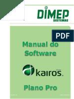 Manual Software Kairos Pro 26