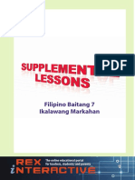 Supplemental Filipino High School Grade 7 2nd Q