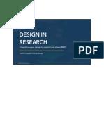Design in Research