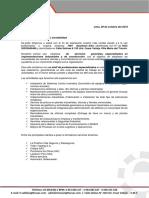 Carta de Presentacion - AVANSYS