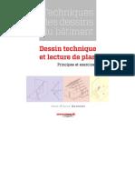 Technique Des Dessins Du Bâtiment Dessin Technique Et Lecture de Plan Principes Et Excercices&_40;Www.livre.tk&_41;