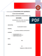 INFORME DE PLANEAMIENTO URBANO