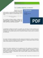 Libro Los Pueblos Indígenas y El Derecho Fue Presentado en Facultad de Ciencias Jurídicas y Sociales UACh