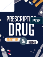 Prescription Drug Addiction and Rehab Infographic