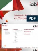 Inversión Publicitaria Medios Digitales 2017