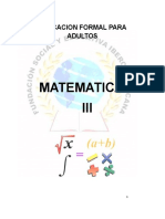 Modulo de Matemáticas III
