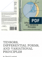 Lovelock D. Rund H. Tensors Differential Forms and Variational Principles Dover 1989