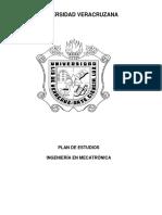 Extenso Del Programa Educativo de Mecatronica 2013