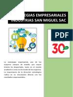 A. Estrategia Empresarial