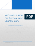 Informe Banca Venezolana Septiembre 2018