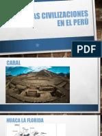 Primeras Civilizaciones en El Perù