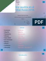 presentación sobre el Mundial de Rusia 2017 (Arabia Saudita)