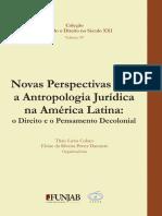 COLAÇO. Novas Perspectivas para a Antropologia Jurídica na América Latina o Direito e o Pensamento Decolonial.pdf