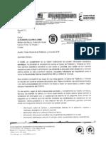 Prueba 1 - Carta DANE - MinSalud