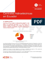 Ficha Hidroelectricas Ecuador