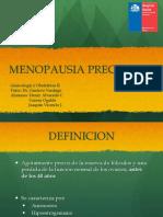 MENOPAUSIA PRECOZ PPT