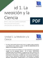 Unidad 1. La Medición y la Ciencia