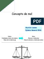 Clase n°5 Concepto de mol