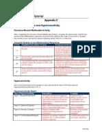 Hca240 Appendix c Complete