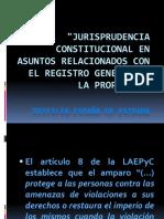 JurisprudenciaConstitucionalRelacionadaConRegistroDeLaPropiedad