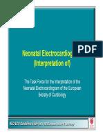 Electrocardiograma neonatala