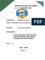 Humedad Del Suelo en Edificaciones Carlos Fernandez